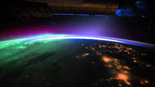 Meniscus - 130 (Earth - Time Lapse View from Space, Fly Over - NASA, ISS)  High Definition