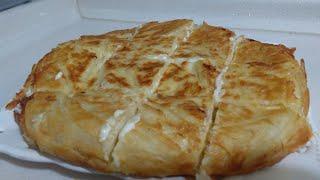 10 Dakikada Kahvaltılık Kolay Su Böreği/Kesinlikle denemeniz Gereken Bir Börek/Seval Mutfakta