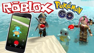 Roblox ENG-who captures more Pokemon? -#17-ROBLOX Pokemon GO