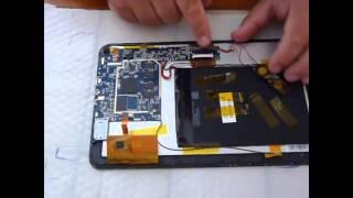Démontage / réparation tablette tactile MPman 10,1 pouces