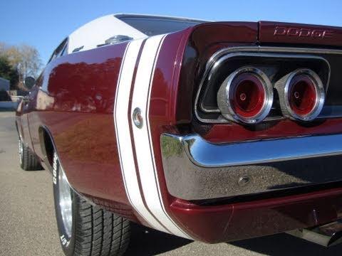 1968 Dodge Charger Six Pack Big Block Fun