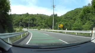 岡山県道46号和気笹目作東線-1、和気から岡山国際サーキット 車載動画