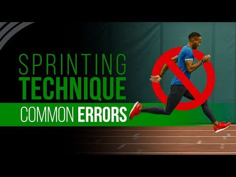Sprinting Technique | Common Errors & Myths
