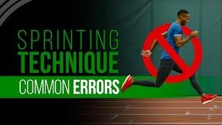 Sprinting Technique   Common Errors & Myths