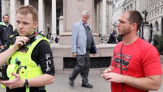 Someone called the cops on me at Bank Station in London