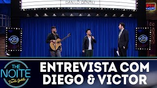 Entrevista com Diego & Victor Hugo | The Noite (28/12/17)