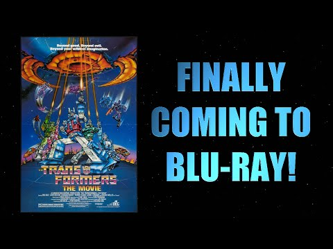 Transformers The Movie is FINALLY Coming to Blu-ray!!!