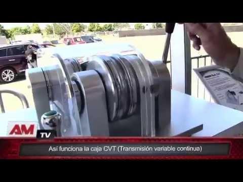 Así funciona una CVT de Nissan (Transmisión variable continua)