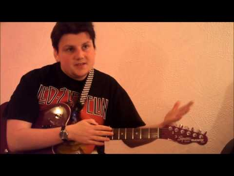 Major Scales In 4ths - Stefan Guitar Lessons: Technical Exercises