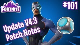 Patch Notes V4.3 | Mythic Hero Carbide, Port-a-fort, Blockbuster P.2 | Fortnite #101