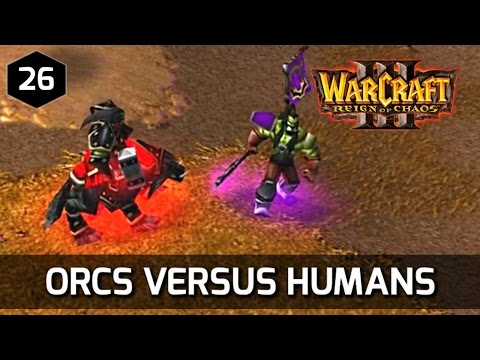 Warcraft 3 Story ► Orcs vs. Humans - Orc Campaign
