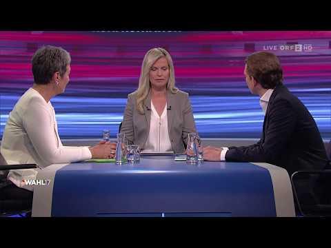 Konfrontation ÖVP - Grüne | Wahl 17