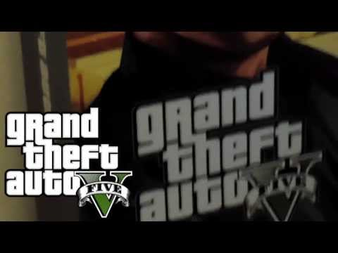 GTA V gamestop cardboard stand up
