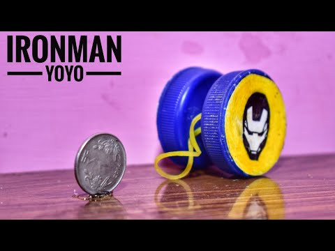 DIY HOW  TO MAKE YOYO(2019) | IRONMAN YOYO WITH COINS