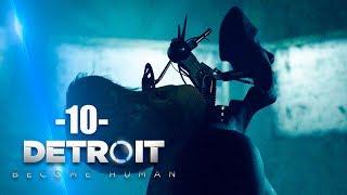 Zagrajmy w Detroit Become Human #10 - HORDA ZOMBIE - Polski gameplay - PS4 PRO