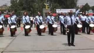 BANDA DE GUERRA BOMBEROS DE CELAYA, GUANAJUATO