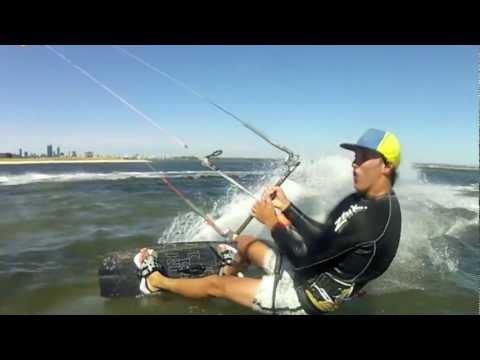 Kitesurfing Pelican Point WA