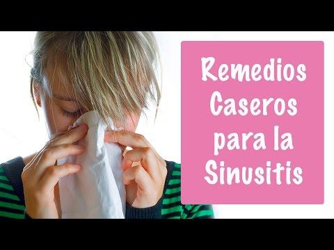 COMO CURAR LA SINUSITIS - REMEDIOS CASEROS PARA LA SINUSITIS