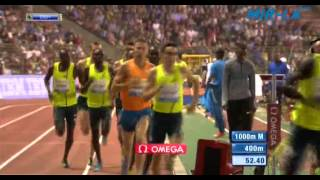 1000m Men Diamond League Brussels 2014