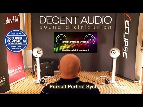 Eclipse TD712zMK2 HiFi Speakers Decent Audio Analogue Kronos Van Den Hul @ Bristol Show 2018