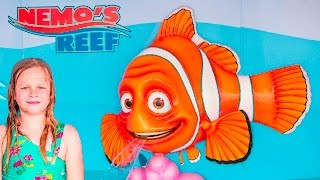 ASSISTANT TREASURE Surprise Hunt Finding Nemo and Dory Treasure Hunt Challenge Real Life Toys Video