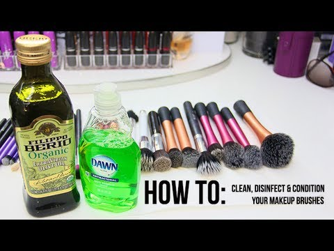 HOW TO: Deep Clean, Disinfect & Condition Your Makeup Brushes ...