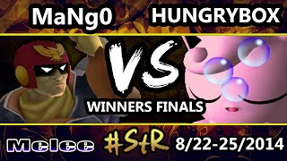 STR - C9 Mango (Captain Falcon) Vs. CRS.Hungrybox (Jigglypuff) SSBM Winners Finals - Melee