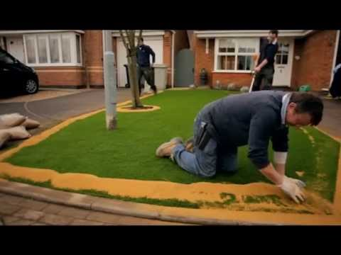 Diy Artificial Grass Installation How To Install