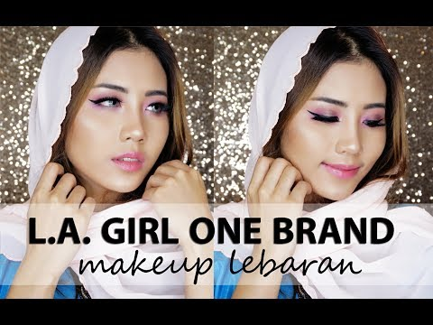 Makeup Lebaran | LA GIRL ONE BRAND TUTORIAL [BAHASA]