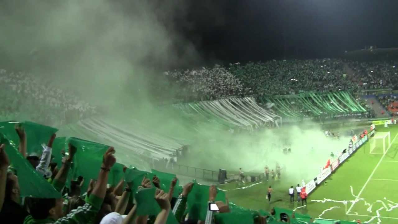 Salida de Atltico Nacional vs Vlez Sarsfield Copa Libertadores Mayo 1 del 2012  YouTube