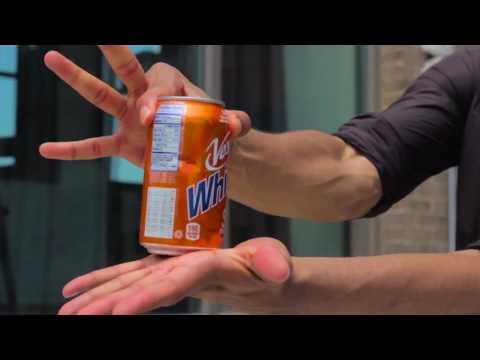 Restored Can Illusion - Vess Soda Magic Advertisement