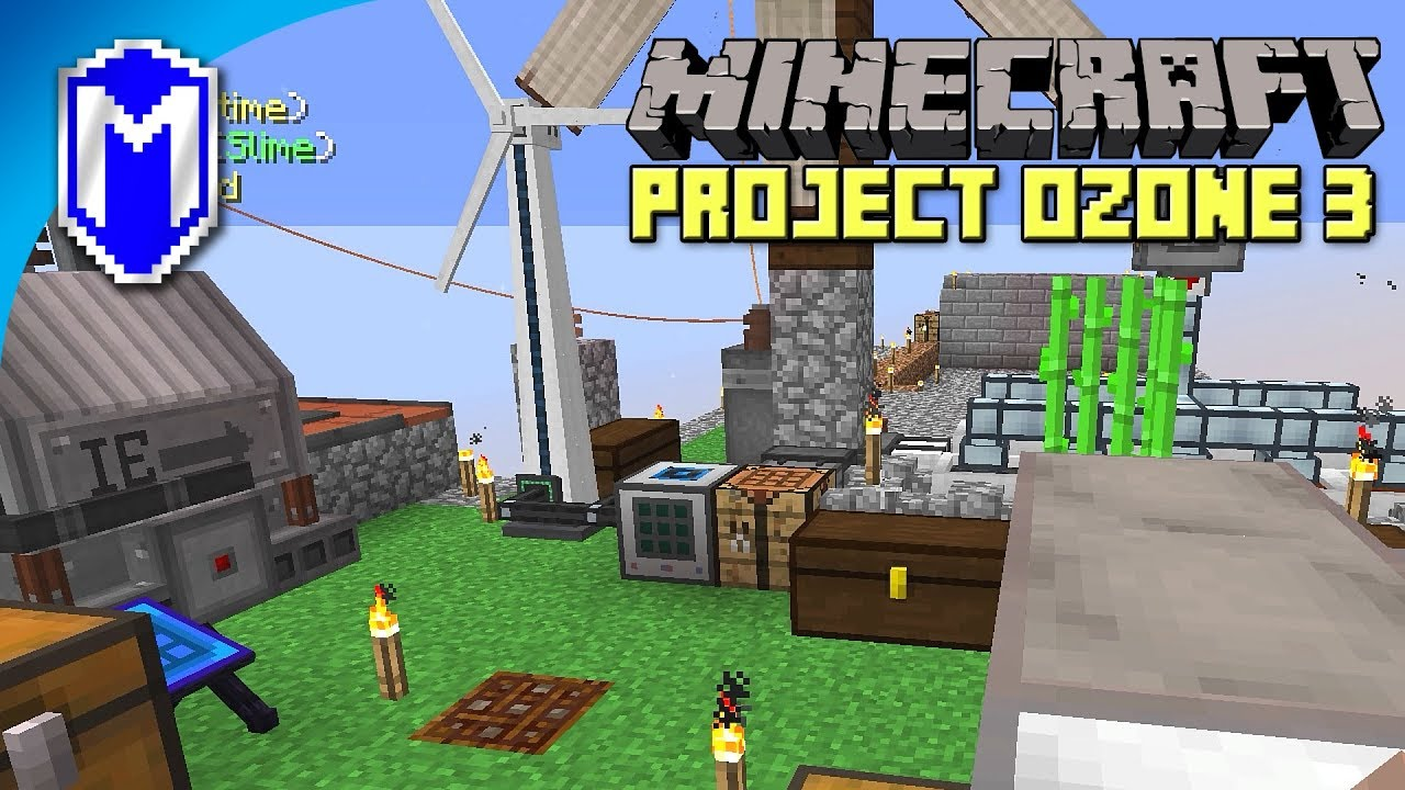 ⚙️ Getting Pink Slime, Mob Slaughter Factory – Project Ozone 3 – Let's Play  Minecraft Gameplay Ep 12