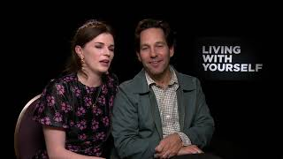Aisling Bea amp Paul Rudd Talk Living With Yourself