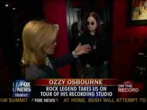 Ozzy Osbourne - Private studio on Fox News