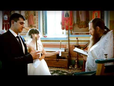 Обряд венчания Дмитрий и Анастасия