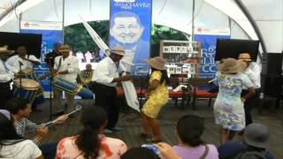Chimbángueles en la Feria del Libro - Golpe Cantica