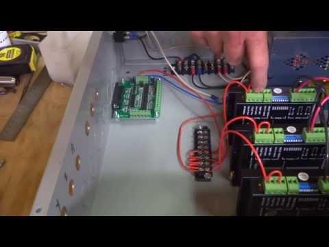 Mini Mill CNC Conversion Part 2 - Control Box Wiring