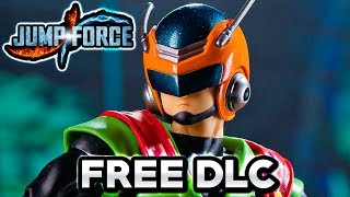 JUMP FORCE - NEW FREE DLC RELEASE DATE! Great Saiyaman Costumes & NEW Sword Type for CaC