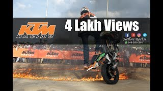 KTM Stunt Ride At V.R.C Ground | Nellore Rockss |Nellore |