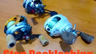 Best Way To Stop Birds Nest / Backlash On Baitcaster Reel Forever | Simple Explaination
