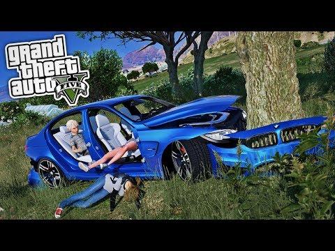 WIR HATTEN EINEN AUTOUNFALL! ? - GTA 5 Real Life Mod thumbnail