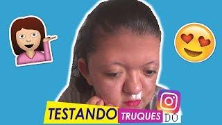 TESTANDO TRUQUES DE BELEZA DO INSTAGRAM