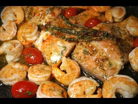 SALMON AND SHRIMP 30 MINS MEAL RECIPE
