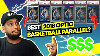 Which Parallel is better!? 2018 Panini Donruss Optic Basketball Cards Investing in Sports Cards