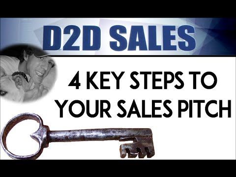 D2D SALES: 4 Keys Strategy (Part 1)
