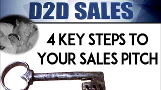 How To Sell Door-To-Door: 4 Keys Strategy (Part 1)