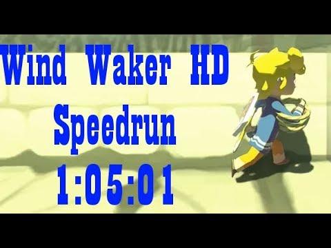 Wind Waker HD Any% Speedrun in 1:05:01