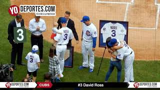David Ross new Chicago Cubs manager