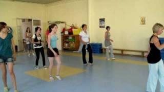 Mon Cours de Danse Disco Juin 2010 .. Chorégraphie sur Dalida - Laissez-moi danser