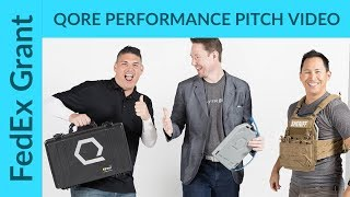 Qore Performance: FedEx Small Business Grant Pitch Video